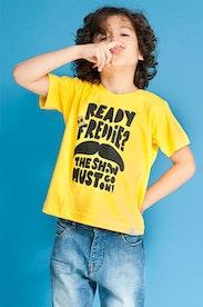 Camiseta Infantil Ready Freddie?