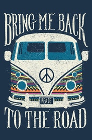 Estampa Camiseta Infantil Back to the Road
