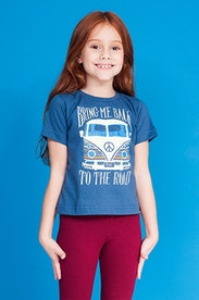 Camiseta Infantil Back to the Road