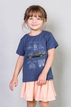 Camiseta Infantil Time Travel Project