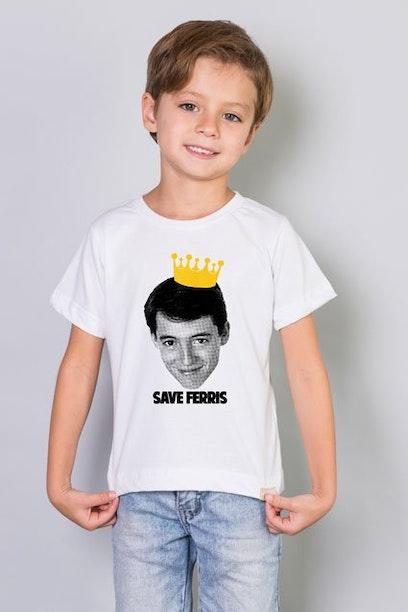 Camiseta Infantil Save Ferris