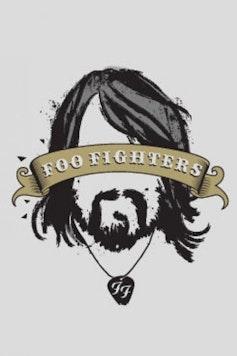 Estampa Camiseta Infantil Foo Fighters
