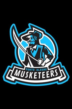 Estampa Camiseta Infantil Musketeers