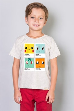 Camiseta Infantil Pokétone