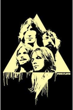 Estampa Camiseta Infantil Pink Floyd