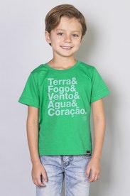 Camiseta Infantil Capitão Planeta