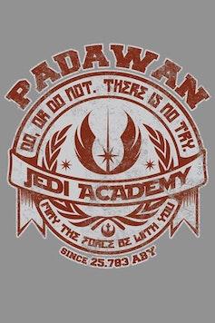 Estampa Camiseta Infantil Jedi Academy