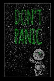 Estampa Camiseta Infantil Don´t Panic