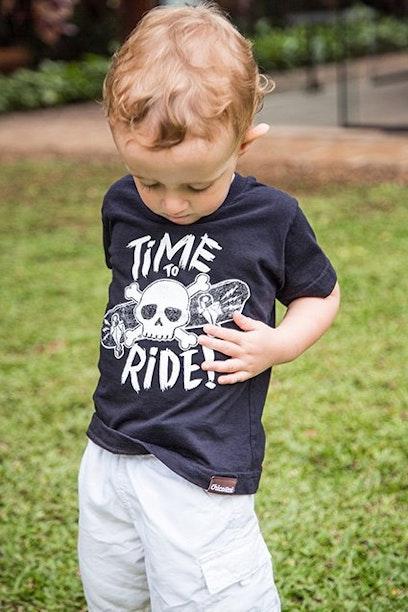 Camiseta Infantil Skate