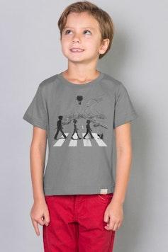 Camiseta Infantil Pallet Road