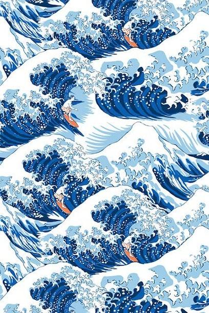 Camiseta Infantil Waves