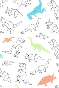 Estampa Camiseta Infantil Dino