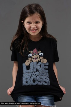Camiseta Infantil Like a Boss