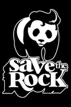 Estampa Camiseta Infantil Save the Rock