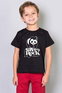Camiseta Infantil Save the Rock