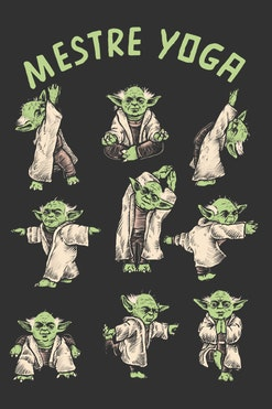 Camiseta Mestre Yoga R$74,90 | 4x de R$18,73