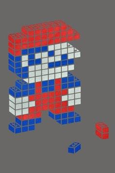 Estampa Camiseta Mario Cubes
