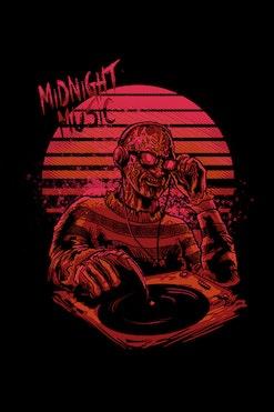 Camiseta Midnight Music R$74,90   4x de R$18,73