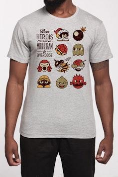 Camiseta Pesadelo dos Gamers