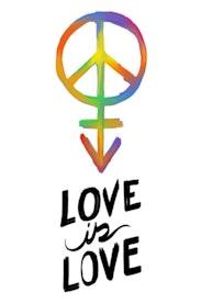 Estampa Camiseta Love Is Love