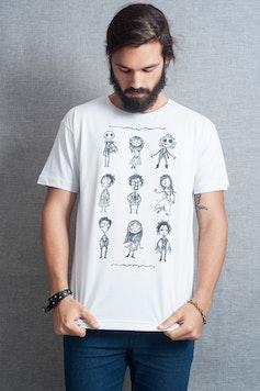 Camiseta O Estranho Mundo de Tim