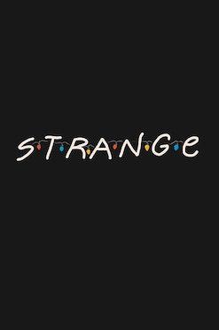Camiseta Strange Friends R$74,90   4x de R$18,73