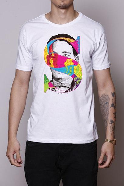 Camiseta Alfabeto Sinhô