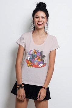 Camiseta Dezoito Gatos