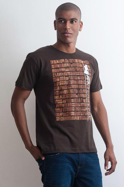 Camiseta Camiseta Biblioteca