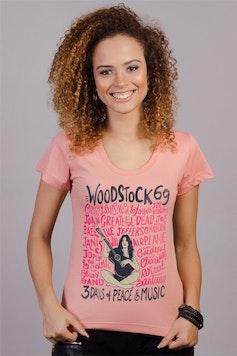 Camiseta Música e Paz