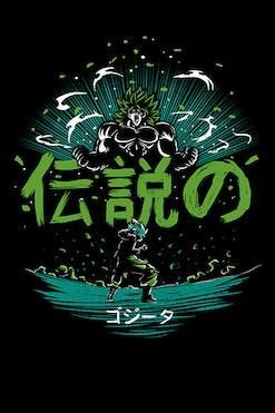 Camiseta Legendary Sayajin R$69,90 | 4x de R$17,48