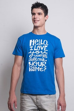 Camiseta Hello, I Love You