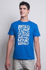 Camiseta Hello, I Love You
