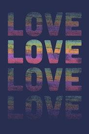 Estampa Camiseta Love Colors