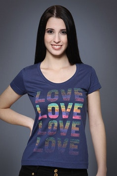 Camiseta Love Colors