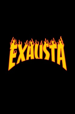 Camiseta Exausta R$74,90   4x de R$18,73