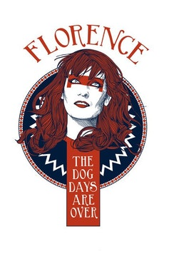 Estampa Camiseta Florence and the Machine
