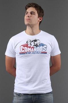 Camiseta Comandos em Ação
