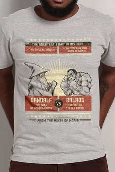 Camiseta The Greatest Fight in History
