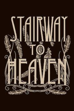 Estampa Camiseta Stairway to Heaven
