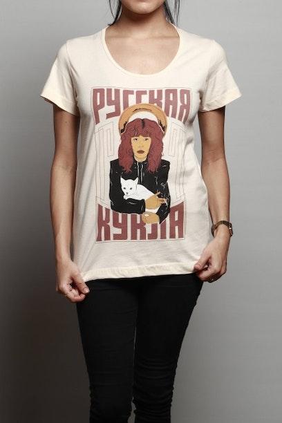 7c612ddd7b Camiseta Boneca Russa - Chico Rei