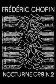 Estampa Camiseta Chopin