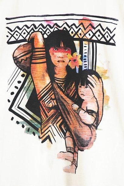 Camiseta Indígena
