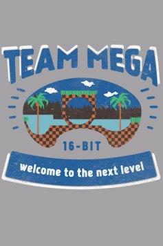 Estampa Camiseta Mega Team