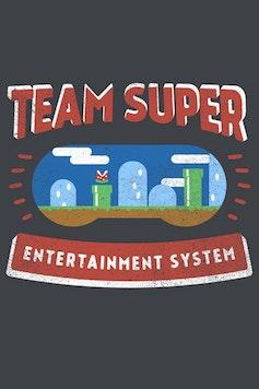 Estampa Camiseta Super Team
