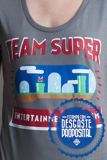 Camiseta Super Team