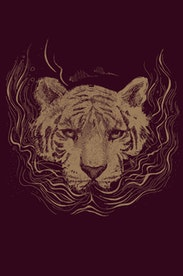Estampa Camiseta Roar