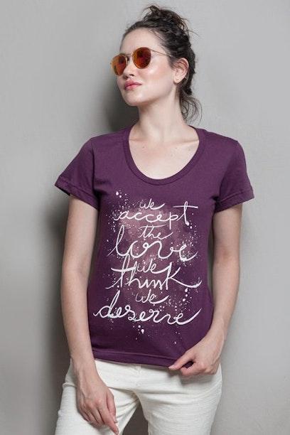 Camiseta As Vantagens de Ser Invisível
