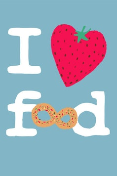 Estampa Camiseta Food