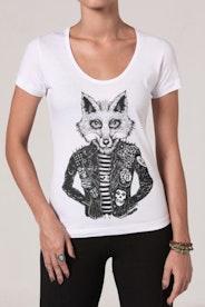 Camiseta Rock Foxy